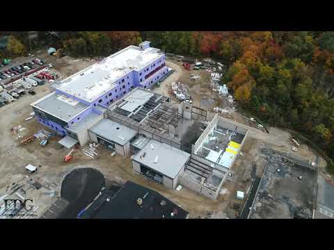 Mulcahey Elementary School - Construction Progress. Oct 16, 2019