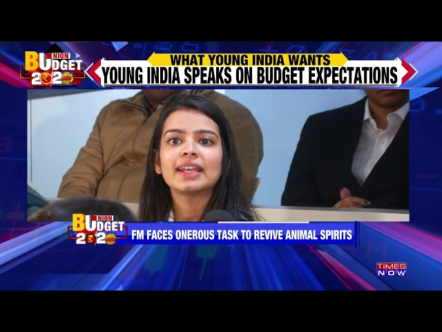 What young India wants from Budget 2020