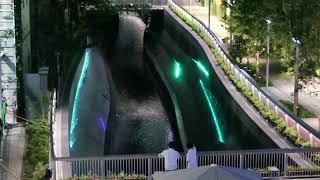 渋谷ストリームの壁泉 / Shibuya Stream