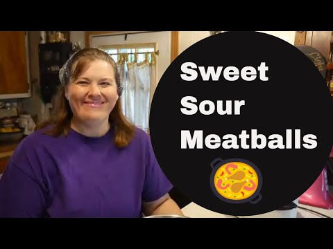 Crockpot Wednesday  Grandma's Sweet Sour Meatballs