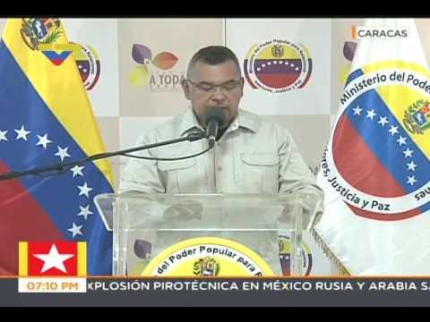 Nestor Reverol sobre hechos violentos de oposición en Gran Plantón, 15 mayo 2017