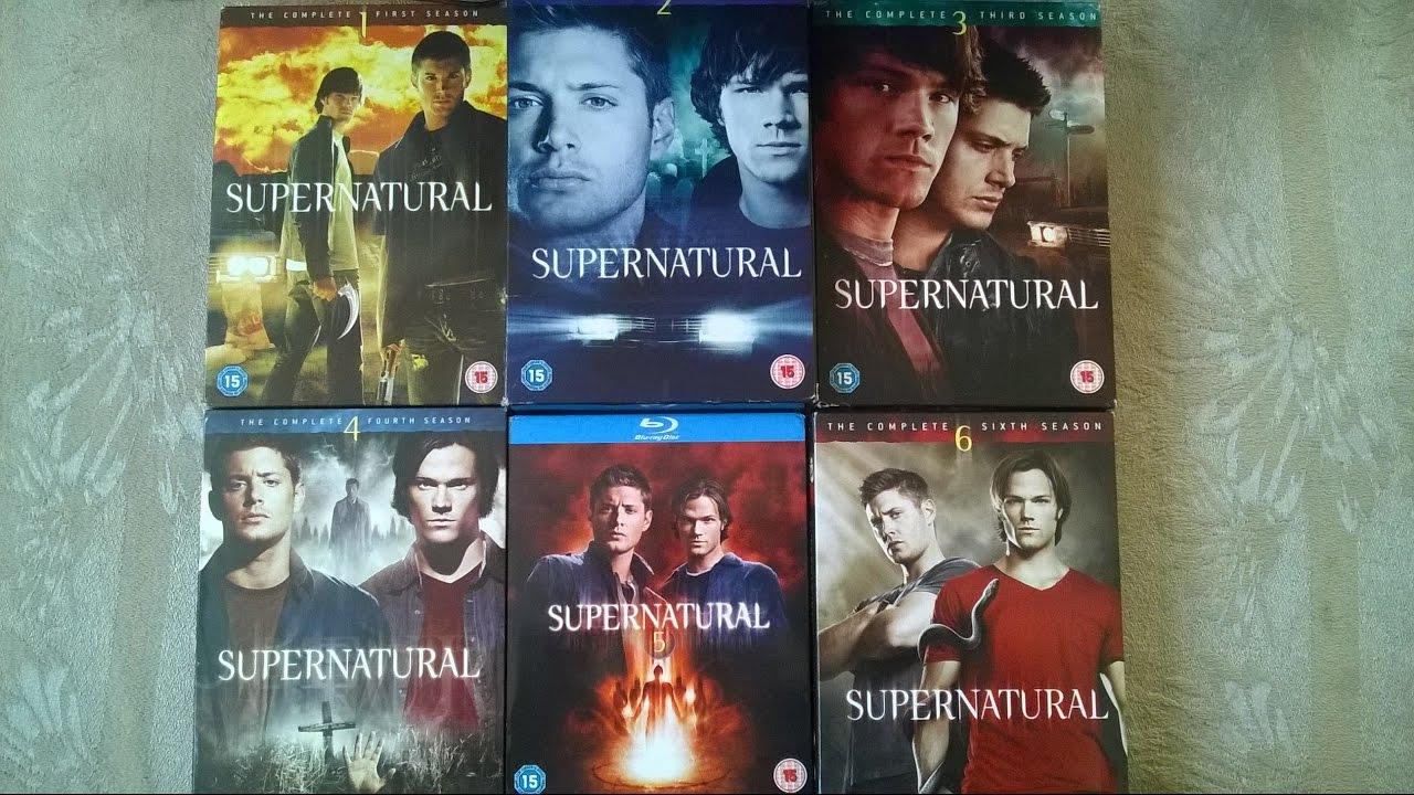 supernatural staffel 1-6