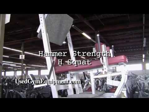 Buy Used Hammer Strength H Squat Plate Loaded For Sale The Beast