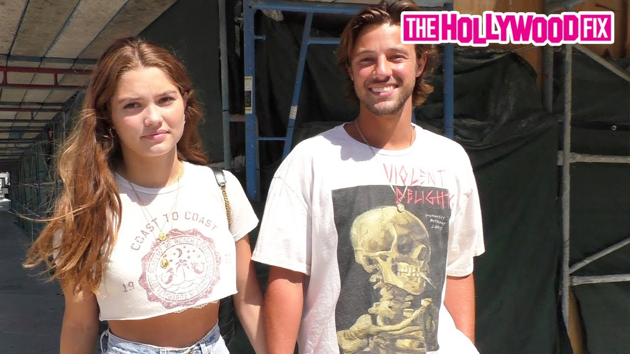 Download Cameron Dallas Almost PROPOSES To Girlfriend Madisyn Menchaca While Leaving Lunch At Urth Caffe