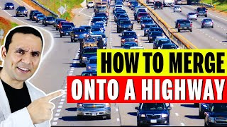 HOW TO MERGE OΝTO A HIGHWAY || GREAT TIPS FOR HIGHWAY || HELPFUL ROAD TEST TIPS BY TORONTO DRIVERS