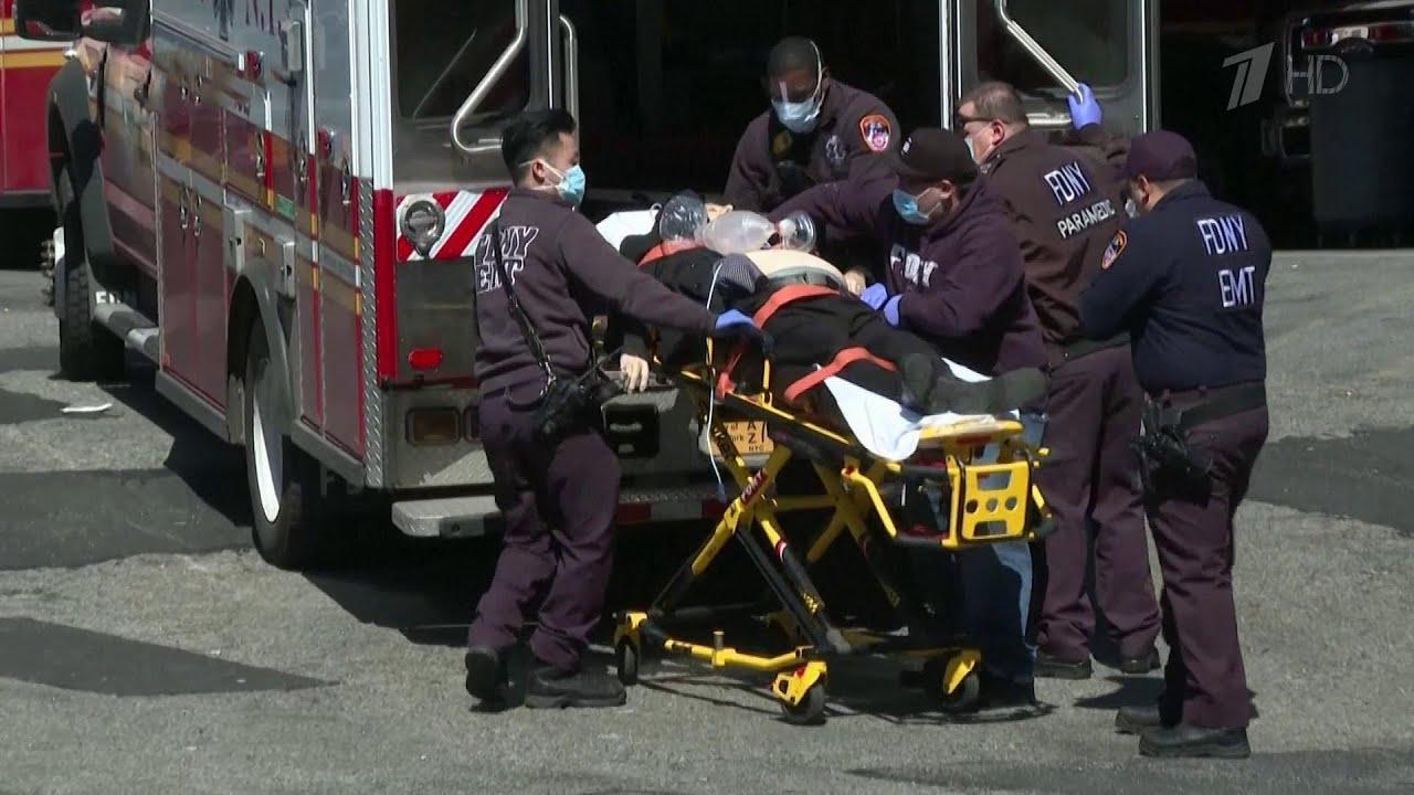 В терпящем бедствие Нью-Йорке от коронавируса умирают каждые 17 минут.