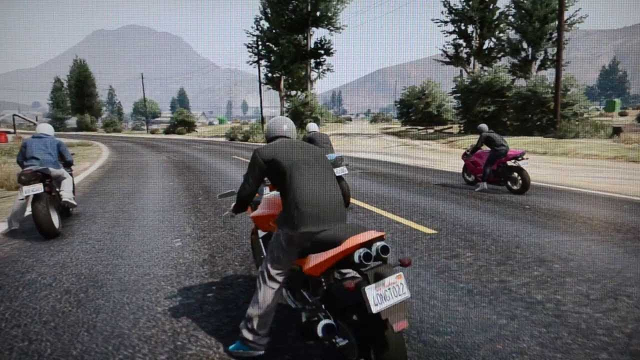 Hd sport bike gameplay grand theft auto v ps3 xbox 360 youtube