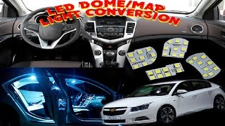 Chevy Cruze led dome & map lights