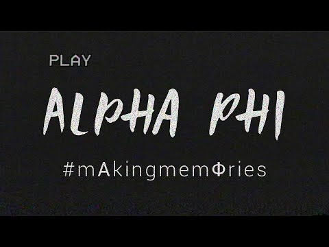 BGSU Alpha Phi Recruitment Video 2017