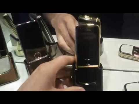 FOR SALE!Stunning NOKIA 8800 collection,ARTE GOLD,SAPPHIRE,ARTE BLACK CONTINENTAL 24K GOLD,part 1