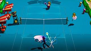 Raqueteando en la copa champiñón - Mario Power Tennis (Wii)