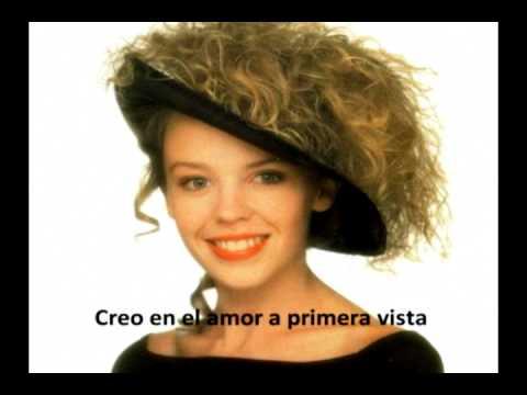 Kylie Minogue - Love At First Sight 1988 (español)
