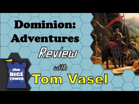 Dominion Adventures Review - with Tom Vasel