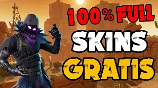 COMO CONSEGUIR SKINS NO FORTNITE BATTLE ROYALE DE GRAÇA (FREE)