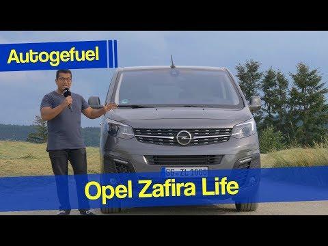 The new Zafira is now a big family van! Opel Zafira Life REVIEW Vauxhall Vivaro