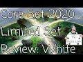 Magic Core Set 2020 White Limited Set Review - The Mana Leek