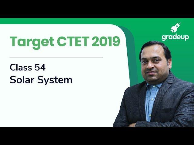 Target CTET 2019 | Class 54 | Solar System | Social Studies By Abhishek Ajay Singh