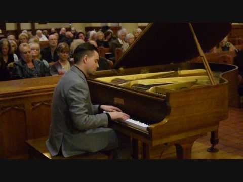 Lagrima, F. Tarrega, arranged for piano  - LIVE by Domenic DiCello