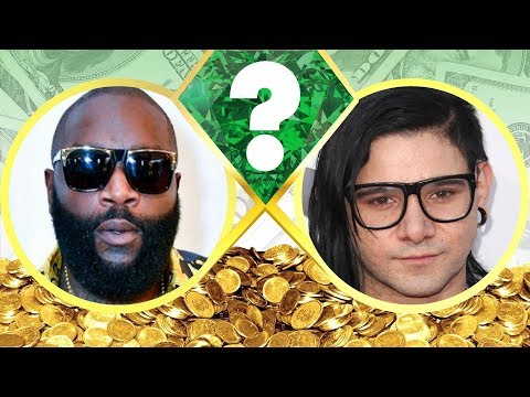 WHO'S RICHER? - Rick Ross or Skrillex? - Net Worth Revealed! (2017)