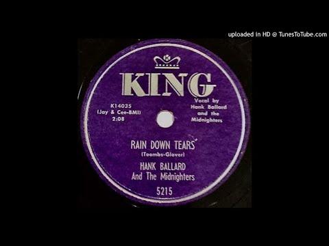 HANK BALLARD   Rain Down Tears,   a late 78   1959