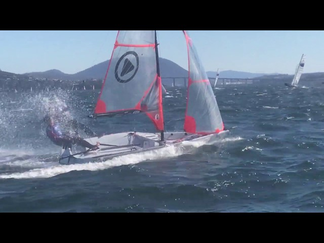 29er Sailing at Youth Champs 2019