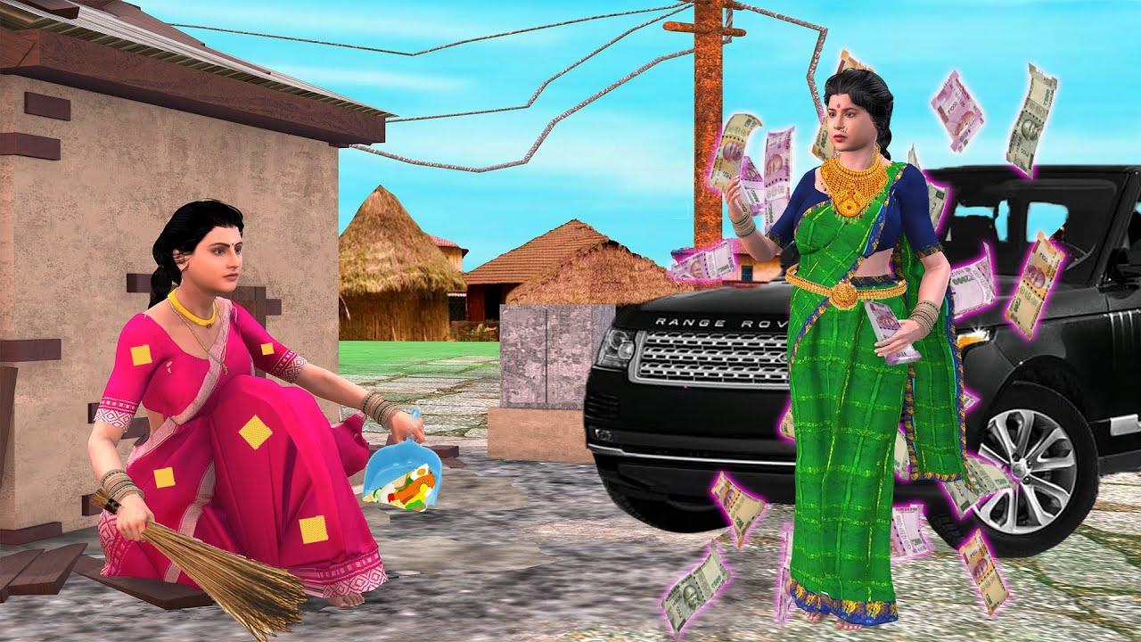 பணக்கார அத்தை புகைக்கிறார்    Mamiyar vs Marumagal   Tamil Stories   Tamil Kathaigal   Tamil Comedy