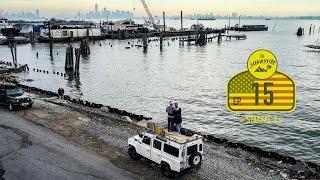 Hallo New York City | Stealth Camping Erfahrung NYC | Mit dem Defender um die Welt