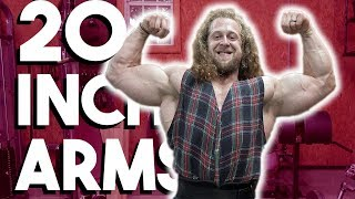 ARMS GROW NEAR 2 INCHES IN 10 MINUTES BICEP WORKOUT