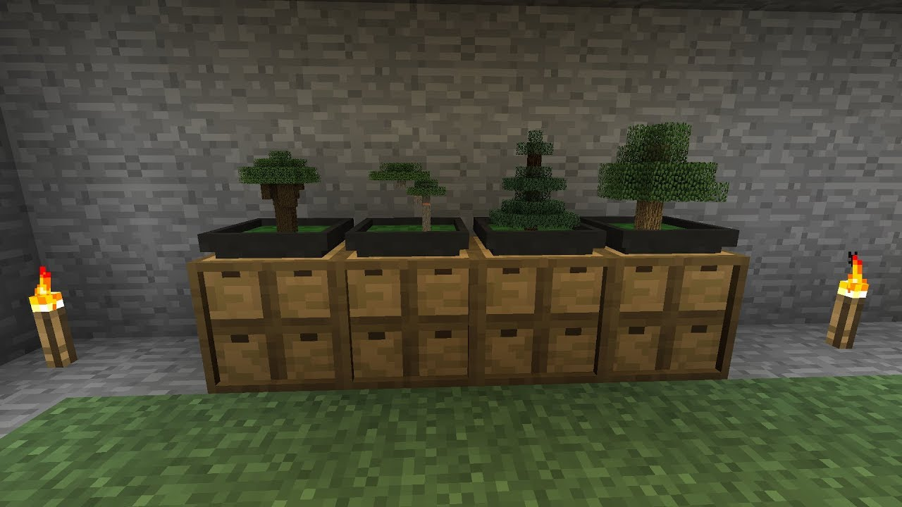 Bonsai Mod Minecraft Make Trees Grow Faster Stoneblock Bonsai Tree