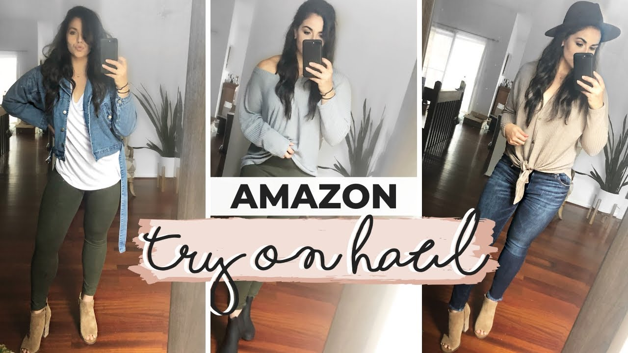 [VIDEO] - HUGE AMAZON FALL TRY ON HAUL 2019 | Fall Outfit Ideas | Best Clothing From Amazon! 2