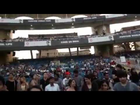 Inside Justin Bieber concert