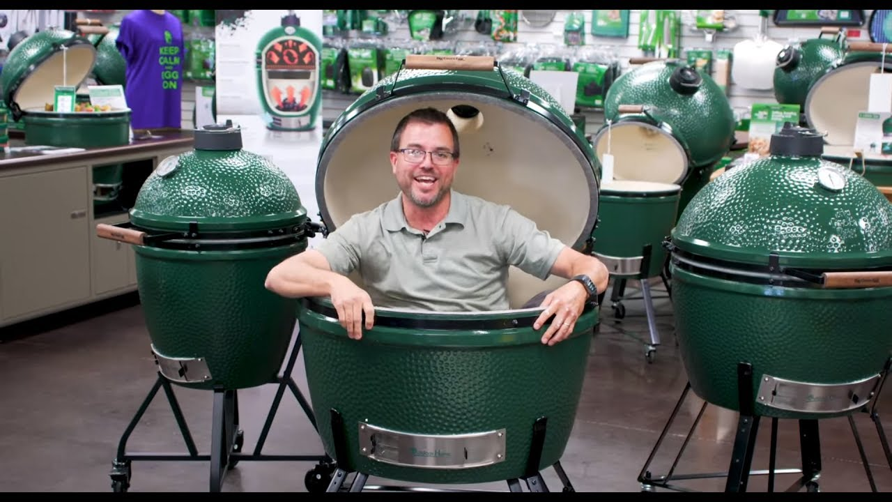 The New Redesigned 2xl Big Green Egg Youtube
