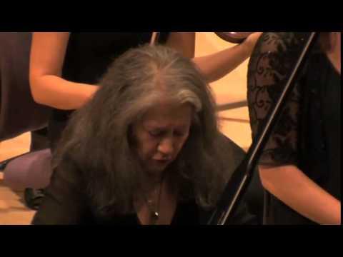 Manchester Camerata with Martha Argerich - Manchester International Festival 2013