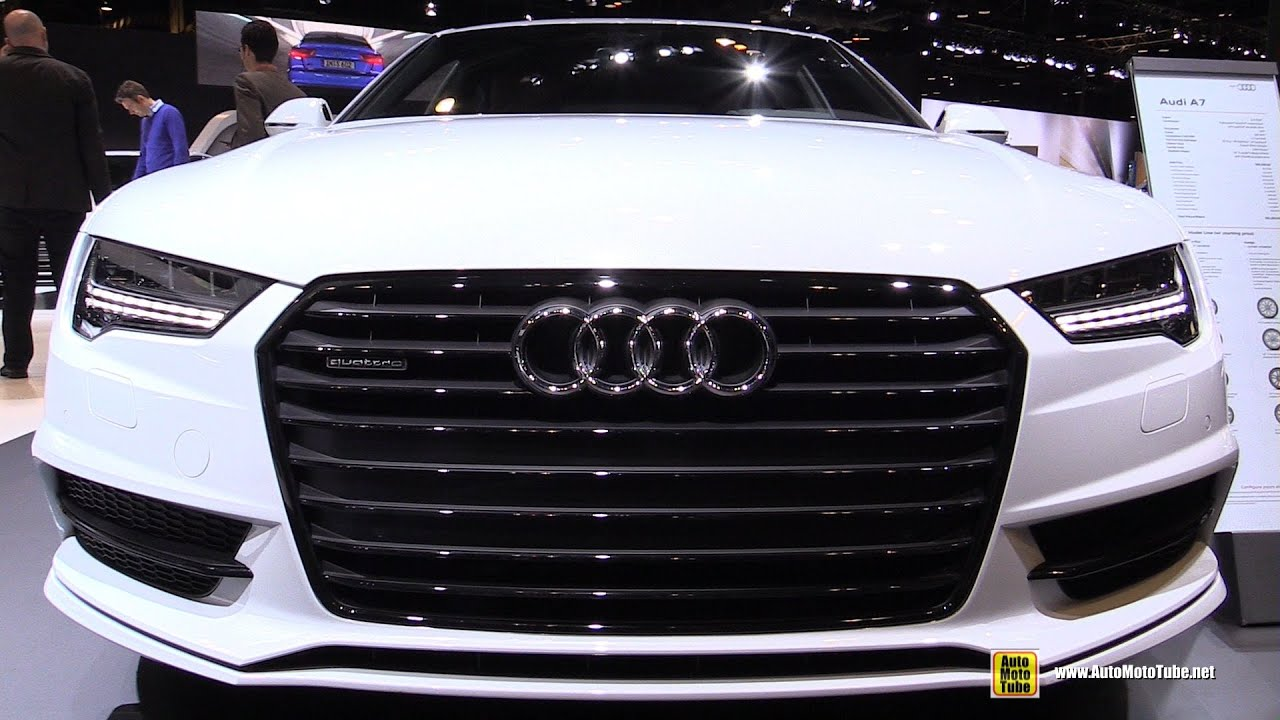 2016 Audi A7 30 TFSI Prestige Package  Exterior and Interior