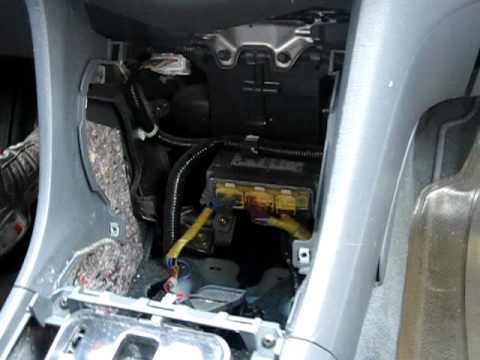 2003 Honda Element Radio Wiring 2003 2007 Honda Accord Storage Pocket Removal Replacement
