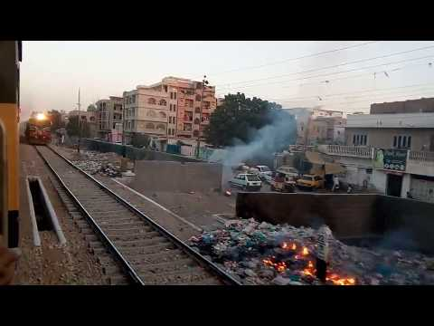 Burning Garbage is Dangerously close to passing by Trains Mp3