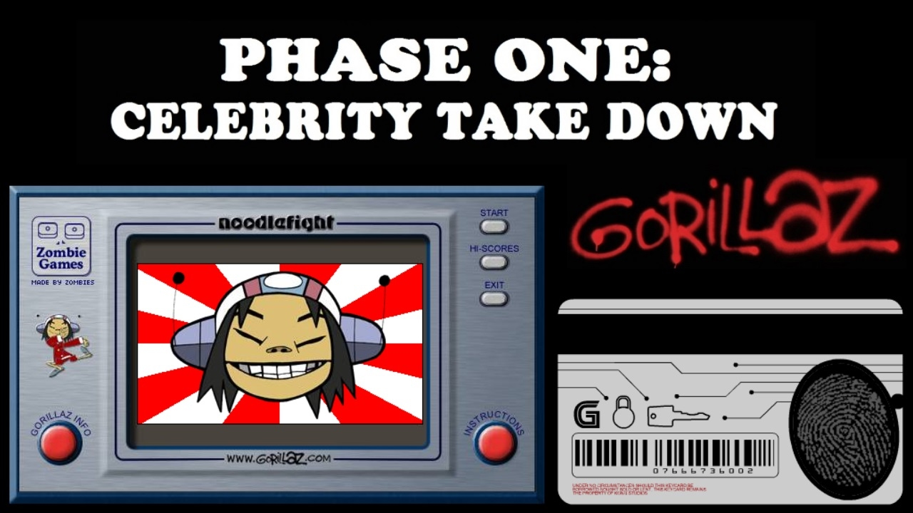 Why is Phase 1 called Celebrity Take Down? : gorillaz - Reddit
