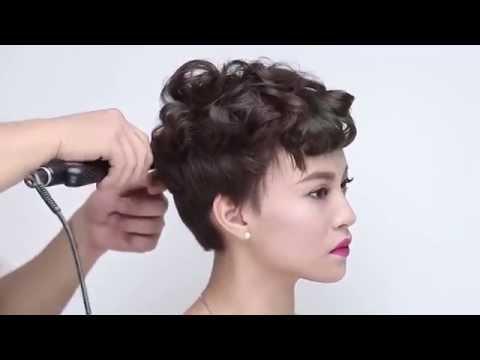 Hướng dẫn 3 kiểu tóc cho cô dâu tóc ngắn – Beauty club