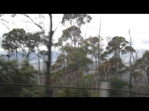 Going up to see Mount Wellington, Hobart, Tasmania.