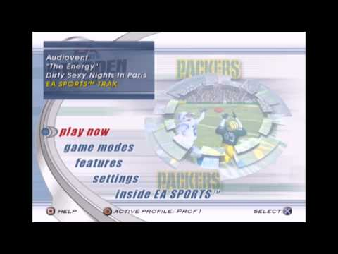 Audiovent  The Energy Madden NFL 2003 Edition