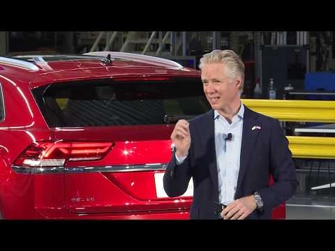 2020 Volkswagen Atlas Cross Sport Press Conference Unveiling Highlights