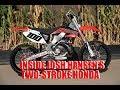 Inside Josh Hansen's Honda CR250R Two-Stroke Red Bull Straight Rhythm Bike