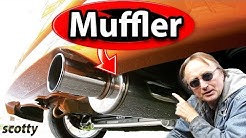 Why Not to Change Your Car's Muffler