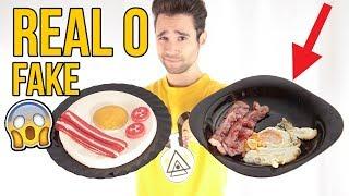 Huevo Frito REAL vs FAKE... ¿TÚ CUÁL ELIGES?
