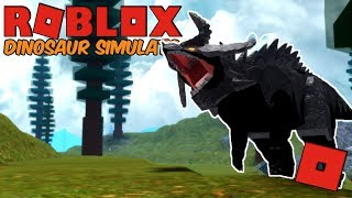 Roblox Dinosaur Simulator-as desventuras de Azazel o Mapusaurus!