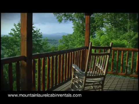 Mountain Laurel Cabin Rentals Youtube
