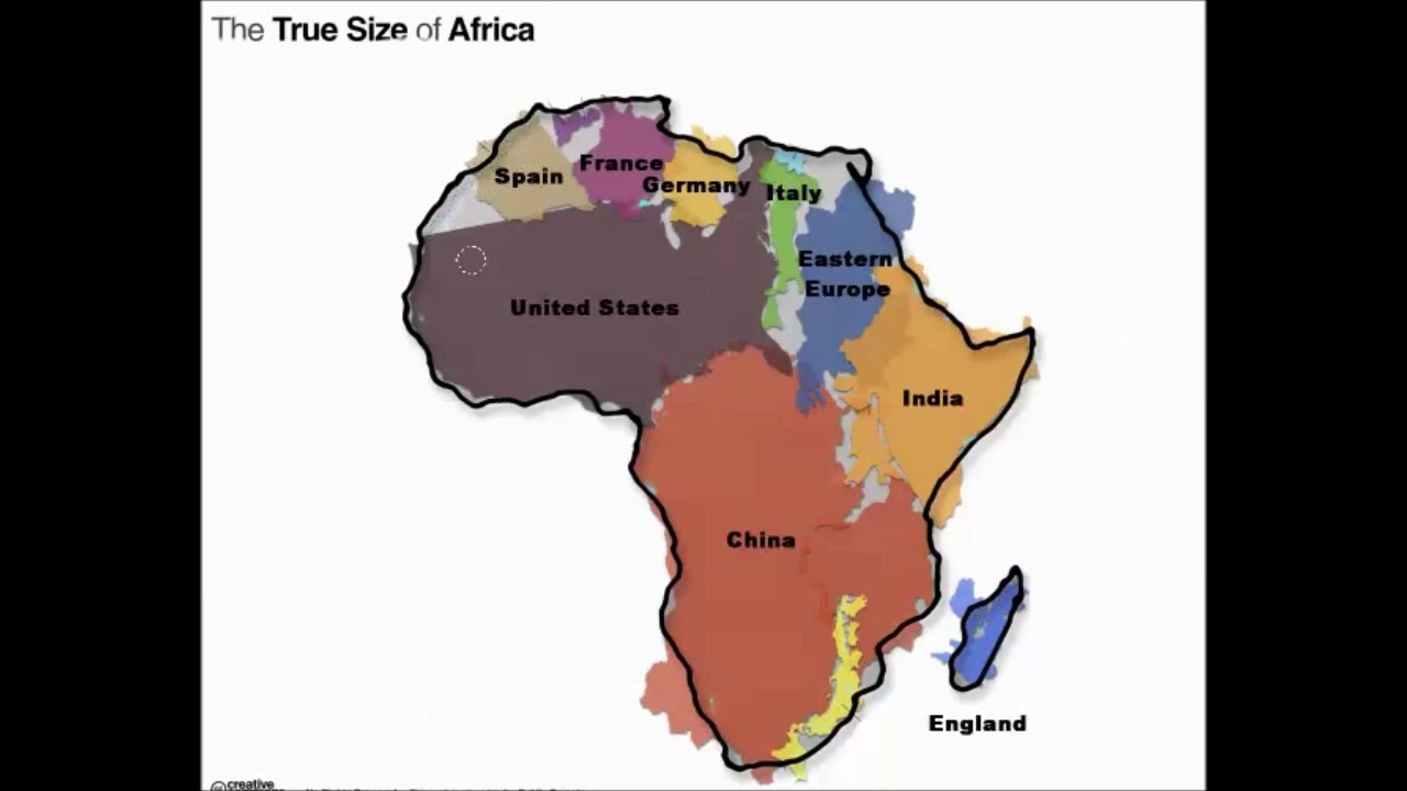 American Scientist Disclose The True Size Of AFRICA and ...