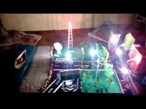 School Project - working model of transport and communication -|| Top 10 Facts ||
