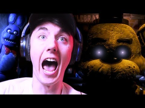 BONNIE RAN INTO MY OFFICE?! || Five Night's at Freddy's REBORN thumbnail