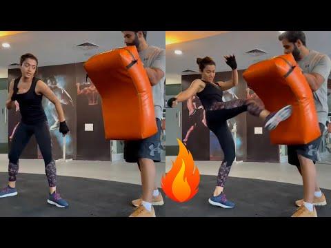Rashmika Mandanna Heavy GYM Workout Video | Rashmika Mandanna Latest Video | IndiaGlitz Telugu